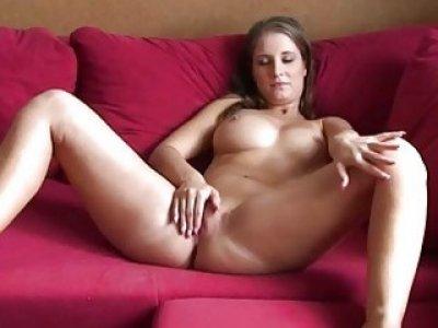 Jennifer Amton Hot Solo Masturbation