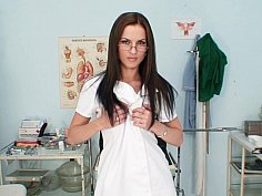 Naughty nurse exposed