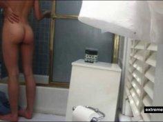 Hot body my sister on hidden camera