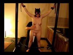 Sally the catwoman is my slave
