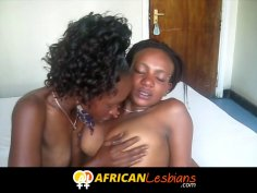 Amateur Black Lesbian Teens Convinced to Fuck On Camera