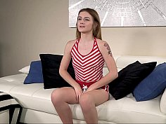 Submissive teen fucked in POV