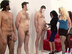 CFNM handjob competition