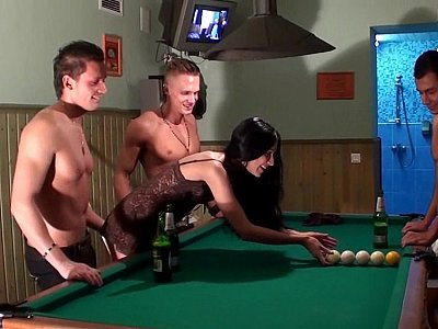 Pool table foursome