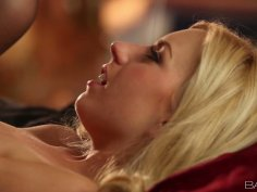 Sensual missionary style fuck of tight blonde hottie Lexi Belle.
