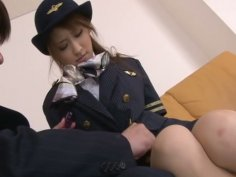 Cute Japanese girl Yuzu Shiina toy insertion