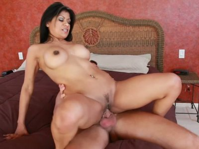 Amazingly hot Mexican slut Gabby Quinteros getting slammed