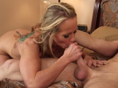 Kinky blondie with perfect boobs Simone Sonay gets fucked mish