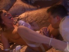 Wedding night with already professional slutty brunette Kirsten Price