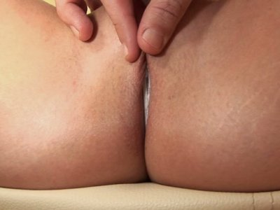 Curly red head Shantie provides a stout blowjob happily