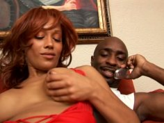 Red haired mulatto with cellulitis ass Cassidy Cummings is a real cum gourmet
