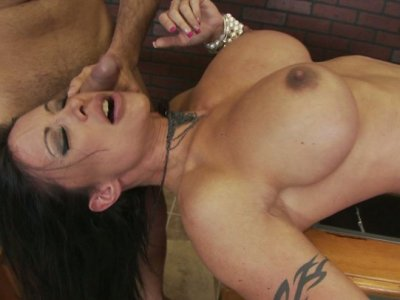 Sinful whore Jewels Jade gets brutally fucked by Keiran Lee
