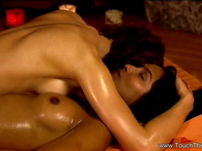 The Touch Of A Relaxing Massage