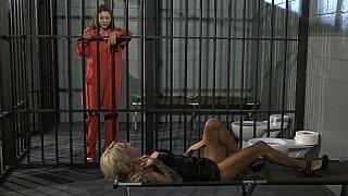 Behind the bars banging