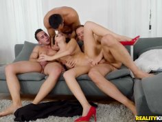 MILF can only find sexual satisfaction in a massive gangbang