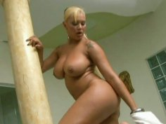 Cock hungry blonde milf Babalu gives amazing blowjob