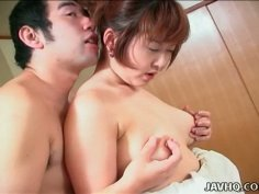 Slutty Japanese housewife Sonomi Kougen gets her wet pussy tickled