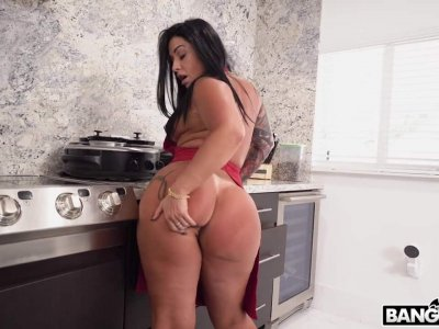 Huge Brazilian Ass