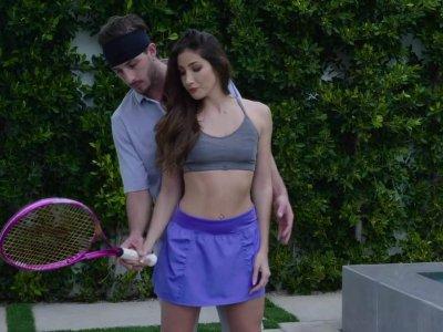 Tennis Teacher's Pet
