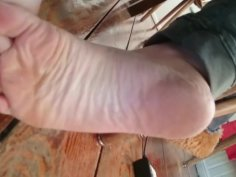 German chubby girl candid size 39 soles