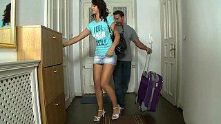 Long legged Olivia wants to rent an apartment Thumbnail