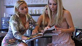 Three Hot Blonde Lesbians Thumbnail