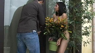 Her neighbor is around to help! Thumbnail