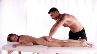 Nubile Films - Teen cutie massaged and fucked Thumbnail