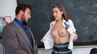 New girl in school asking favors Thumbnail