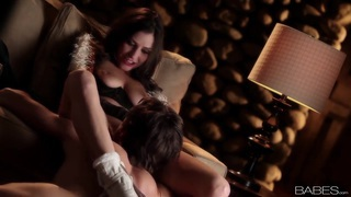 Victoria Lawson spreads her legs wide as she gets her pussy licked Thumbnail