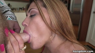 Latina Shakes Big Butt, Hammered with Cock