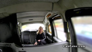 Blonde gets anal banged in fake taxi reality european Thumbnail