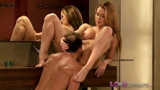 Love Creampie Big tits milf fucked in the bathroom Thumbnail