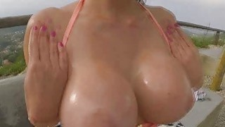Aletta sucked a cock deep in her throat