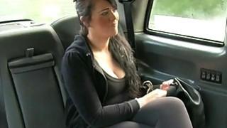 Big bobs customer fucked in the backseat Thumbnail