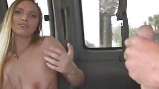 Sweet busty babe Layna Landry loves a big hard cock Thumbnail