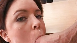 Older babe is sucking dudes cock hungrily Thumbnail