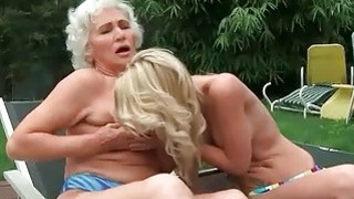 Grannies and Young Girls Hot Lesbian Compilation Thumbnail