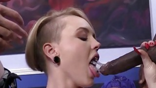 Miley May Takes Black Cocks In Front Of Her BF