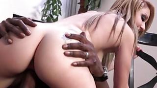 Valerie White fucks a big black cock Thumbnail