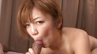 Pretty asian playgirl gives salacious titty fuck Thumbnail