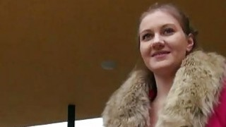 Pretty hot Czech babe screwed in public Thumbnail