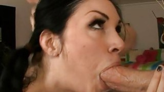 Dudes male dick is making babe very down under Thumbnail