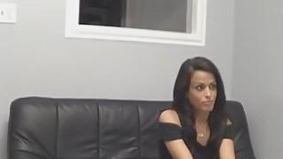 Hot brunette Latina fucked on casting Thumbnail
