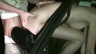 Busty pornstar Kitty Jane PUBLIC sex orgy gang bang street orgy with several random strangers Thumbnail