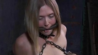 Gagged and bounded honey needs pussy gratifying Thumbnail