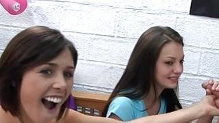 Nasty divas are having fun licking wet cracks