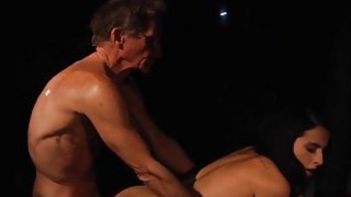 76 grandpa blind date with brunette ends in hot se Thumbnail