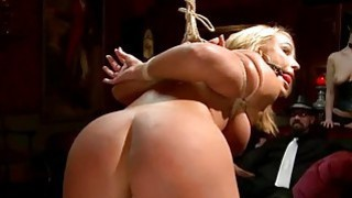 Honey gets a outdoor punishment for her twat Thumbnail