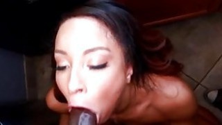 Playgirl is on her knees during doggy style sex Thumbnail